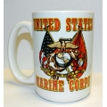 MARINE CROSS FLAGS MUG