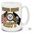 NAVY CROSS FLAGS MUG
