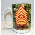 MARINE SERGEANT MAJOR MUG