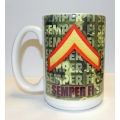 PRIVATE FIRST CLASS MARINE MUG