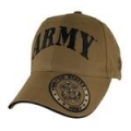 CAP-ARMY W/SEAL ON BILL LOGO (COYOTE BRN)