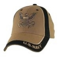 CAP-NAVY LOGO (TWO TONE) (COYOTE BRN)
