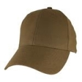 CAP-BLANK CAP -COYOTE BROWN