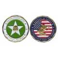 COIN-ARMY COMBAT VETERAN#