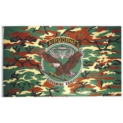 Airborne Screaming Eagles Flag