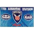 11th Airborne Division Flag