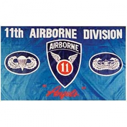 11th Airborne Division Flag