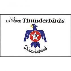 US Air Force Thunderbirds Flag
