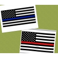 POLICE, FIRE, EMT FLAGS