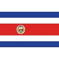 FLAG-COSTA RICA (3ftx5ft)