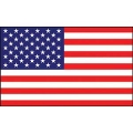 FLAG-USA EMBROID. NYLON (03ft x 05ft) .
