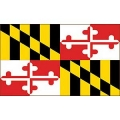 FLAG-MARYLAND (3ftx5ft) .