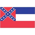 FLAG-MISSISSIPPI (3ftx5ft) .