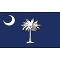 FLAG-SOUTH CAROLINA (3ftx5ft) .