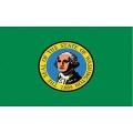 FLAG-WASHINGTON (3ftx5ft) .