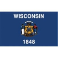 FLAG-WISCONSIN (3ftx5ft) .