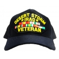 Desert Storm & Iraq Veteran Hat - American Made