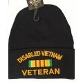 DISABLED VIETNAM VETERAN CUFFED KNIT BEANIE