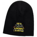DUE TO COST OF AMMO - NO WARNING SHOTS KNIT BEANIE