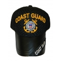 COAST GUARD MESH AND LEATHER HAT