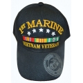 1ST MARINE VIETNAM VETERAN HAT WITH RIBBONS