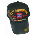 82ND AIRBORNE VIETNAM VETERAN HAT WITH RIBBONS