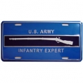 LICENSE PLATE - ARMY CIB , EXPERT
