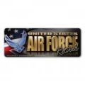 Air Force Retired Bumper Strip Magnet