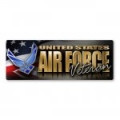 Air Force Veteran Bumper Strip Magnet