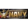 Navy Retired Bumper Strip Magnet