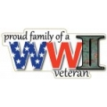 Proud Family of a World War II Veteran Magnet