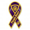 Purple Heart Ribbon Magnet