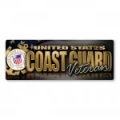 Coast Guard Veteran Bumper Strip Magnet
