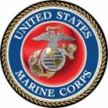 MARINE CORPS CAR DOOR MAGNET