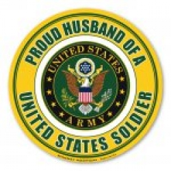 Proud Husband of a U.S. Soldier Magnet