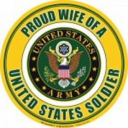 Proud Wife of a U.S. Soldier Magnet