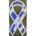 SUPPORT LAW ENFORCEMENT RIBBBON MAGNET