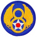 "PATCH-USAF, 008TH (3"")"