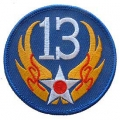 "PATCH-USAF, 013TH (3"")"