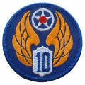 "PATCH-USAF, 010TH (3"")"
