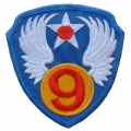 "PATCH-USAF, 009TH (3"")"