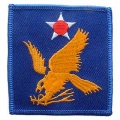 "PATCH-USAF, 002ND (3"")"