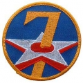 "PATCH-USAF, 007TH (3"")"