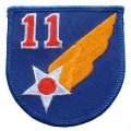"PATCH-USAF, 011TH (3"")"