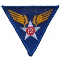 "PATCH-USAF, 012TH (3"")"