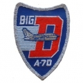 "PATCH-USAF, A-7D, BIG (3"")"
