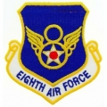 "PATCH-USAF, 008TH, SHLD (3"")"