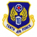 "PATCH-USAF, 010TH, SHLD (3"")"