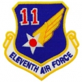 "PATCH-USAF, 011TH, SHLD (3"")"