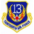 "PATCH-USAF, 013TH, SHLD (3"")"